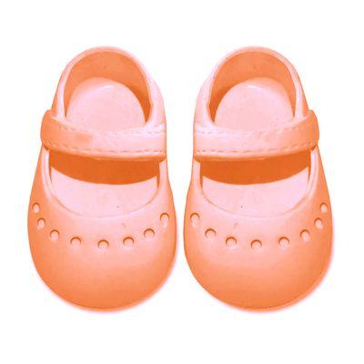 acessorios-para-boneca-sapatilha-colorida---tam-7--laranja-laco-de-fita-04083_Frente