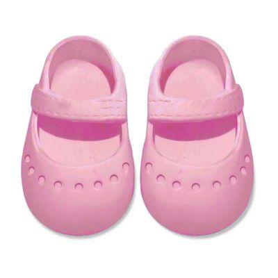 acessorios-para-boneca-sapatilha-colorida---tam-7--rosa-laco-de-fita-04083_Frente
