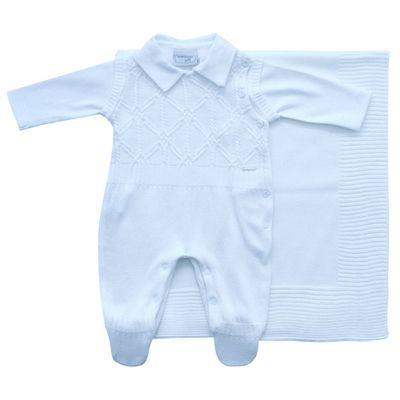 Conjunto-Infantil---Kit-Maternidade---Jacquard-Listrado---Malha---Azul-Claro_Frente