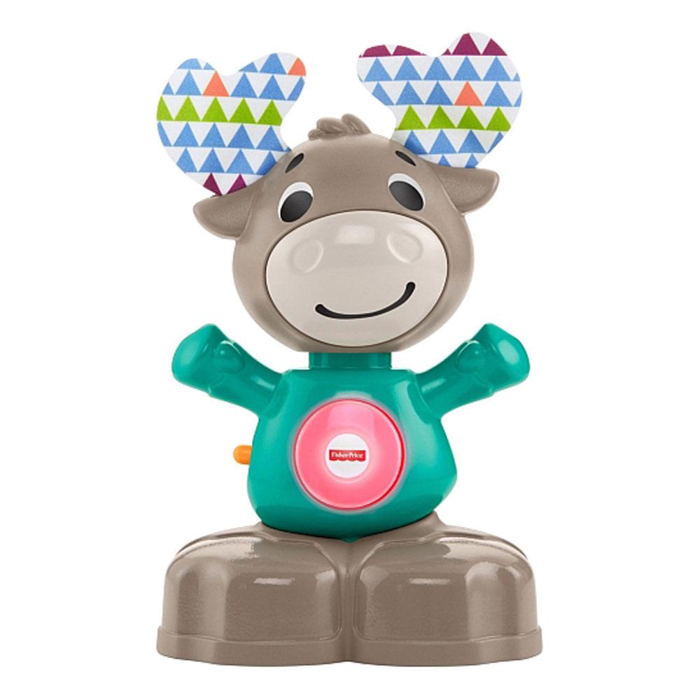 Brinquedo de Atividades - Linkimals - Alce Musical - Fisher-Price