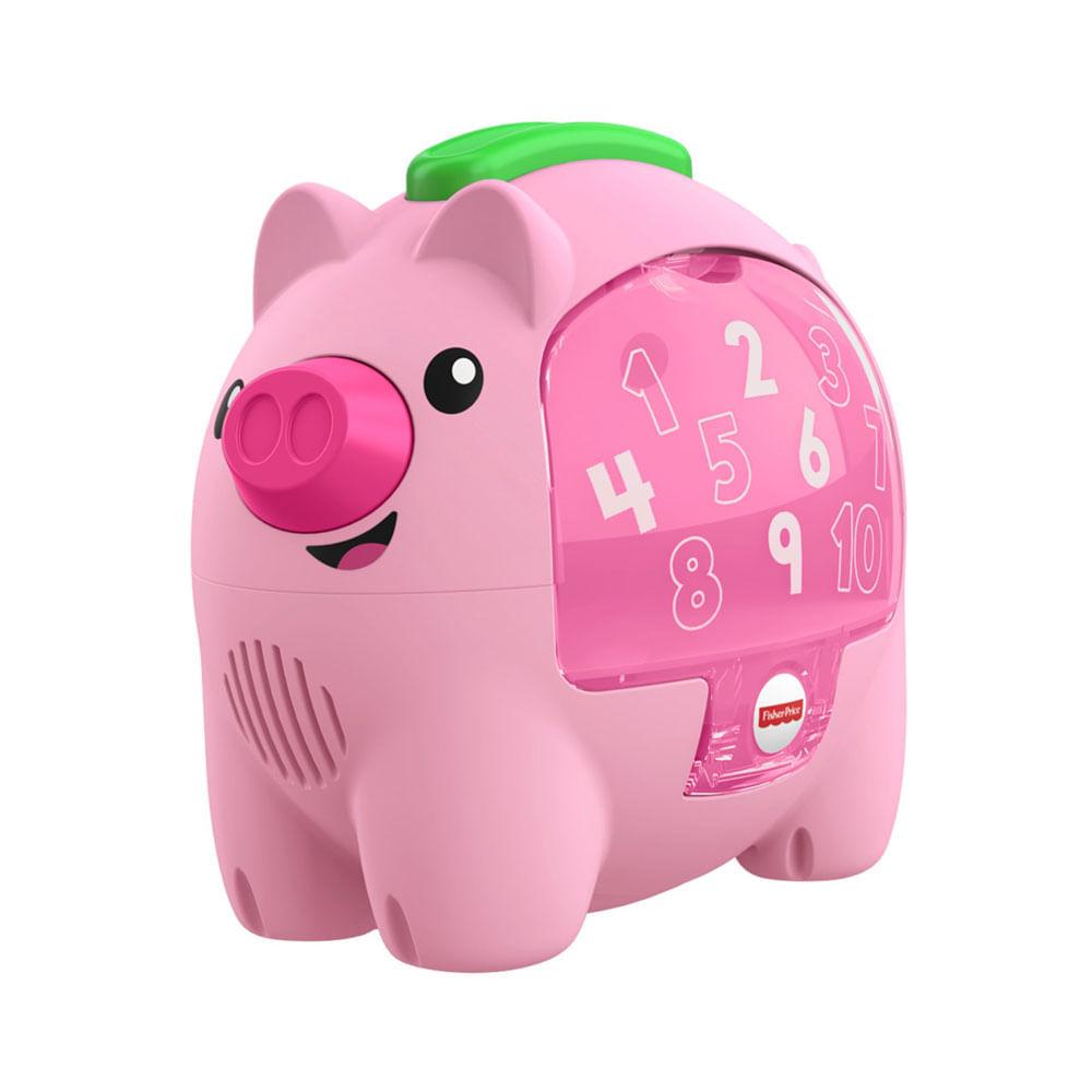 Brinquedo de Atividades - Aprender e Brincar - Porquinho Conta Comigo - Fisher-Price