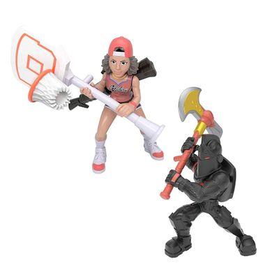 Mini-Figuras---15-Cm-com-Acessorios---Fortnite---Black-Knight-e-Triple-Threat---Fun