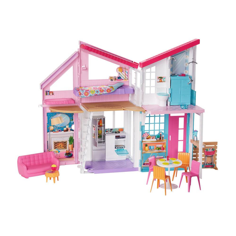 Playset Barbie - 90 Cm - Casa da Barbie - Casa Malibu - Mattel