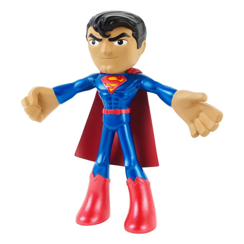 Mini Figura Flexível - 7 Cm - DC Comics - Superman - Mattel