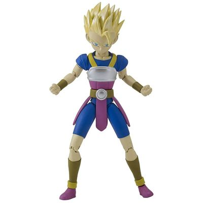 Figura Colecionável - 16 Cm - Dragon Ball - Dragon Ball Super - Série 5 - Super Sayajin Cabba - Fun