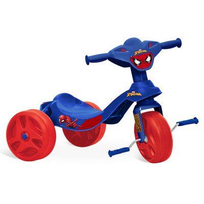 Triciclo-Tico-Tico---Disney---Marvel---Spider-Man---Azul---Bandeirante
