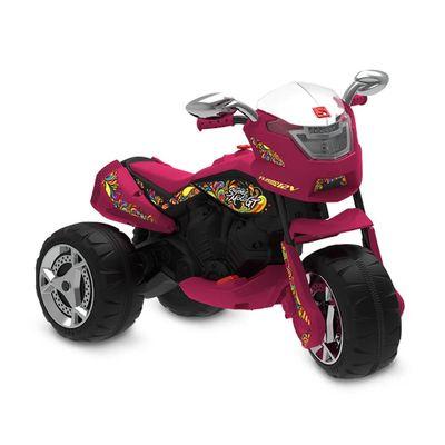 Triciclo-Eletrico---12V---Super-Moto-GT---Turbo---Vermelha---Bandeirante