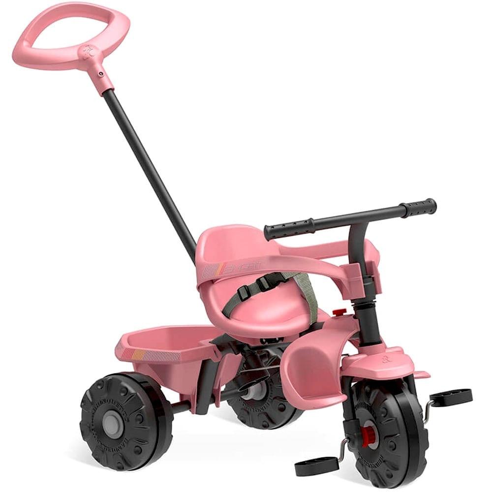 Triciclo de Passeio Smart - Plus - Rosa - Bandeirante