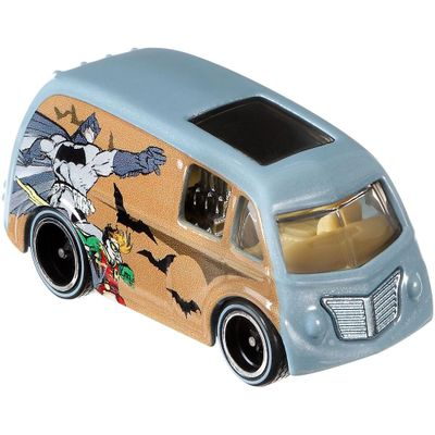 Veiculo-Hot-Wheels---Cultura-Pop---1-64---Serie-DC-Comics---Quick-D-Livery---Mattel