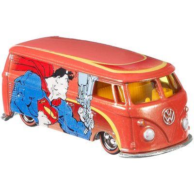 Veiculo-Hot-Wheels---Cultura-Pop---1-64---Serie-DC-Comics---Volkswagon---Volkswagen-T1-Panel-Bus---Mattel