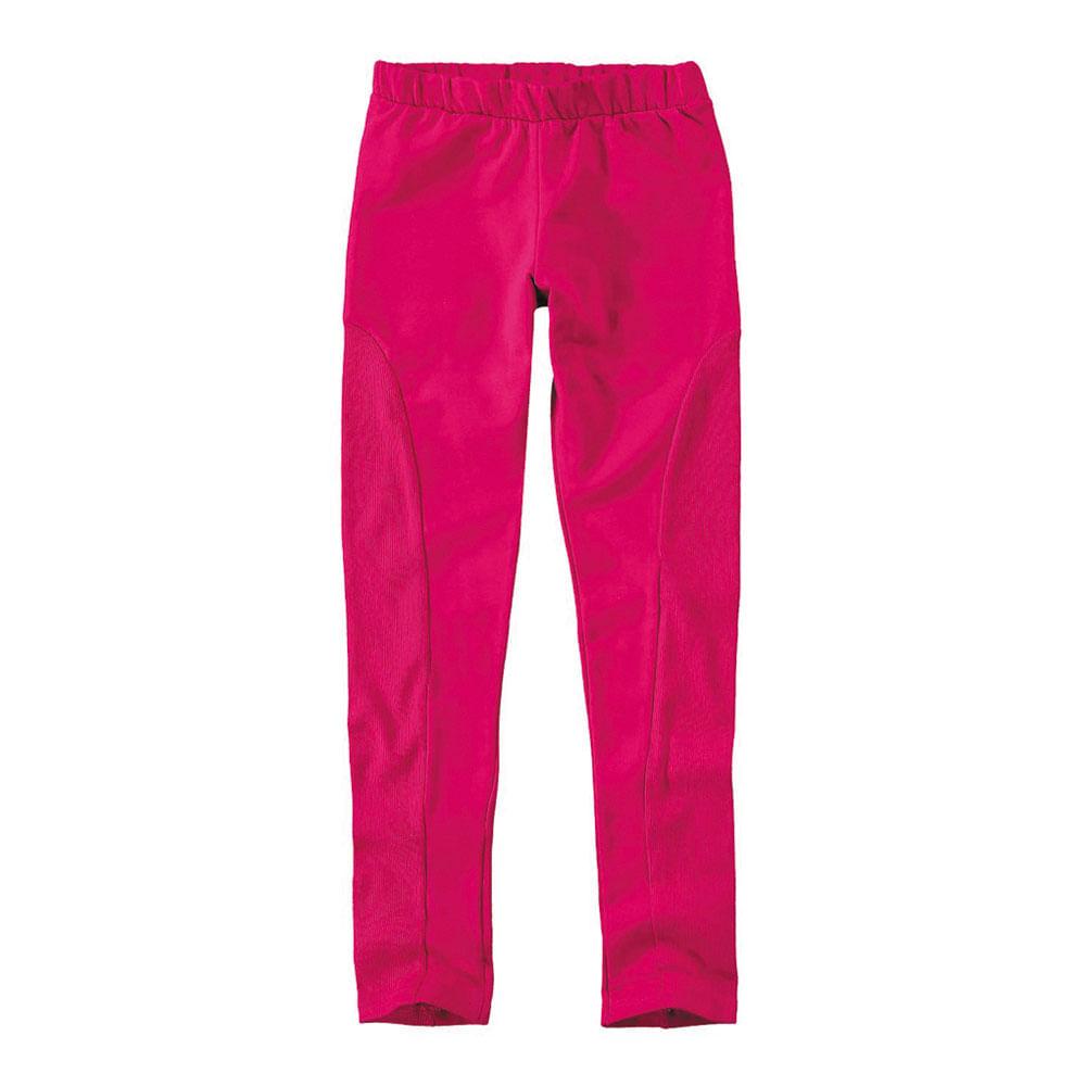 Calça Legging - Montaria - 100% Algodão - Pink - Malwee
