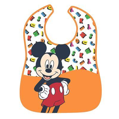 Babador-Impermeavel---Disney---Mickey-Mouse---Alfabeto---Girotondo-Baby