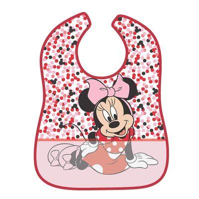 Babador-Impermeavel---Disney---Minnie-Mouse---Bolinhas---Girotondo-Baby
