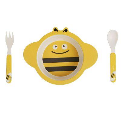 Conjunto-de-Alimentacao---Eco-friendly---Abelha---Girotondo-Baby