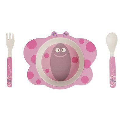 Conjunto-de-Alimentacao---Eco-friendly---Borboleta---Girotondo-Baby