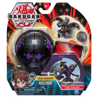 Figura-de-Batalha-e-Card-Colecionavel---Bakugan---Nillious---Sunny-Embalagem