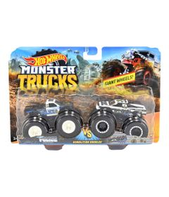 conjunto-de-veiculos-hot-wheels-escala-1-64-monster-trucks-police-e-hooligan-mattel-FYJ64_Frente