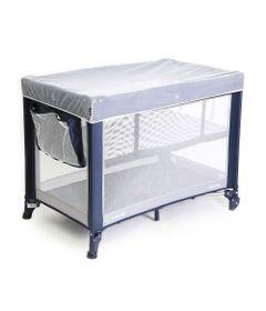 Berco-Portatil-Mini-Play-Niveis-de-Altura-Azul-Safety-1st_frente