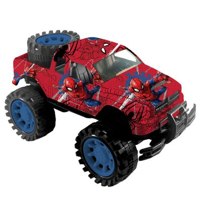 Carro-de-Friccao---Marvel---Homem-Aranha---Pickup-Estampada---Toyng_frente