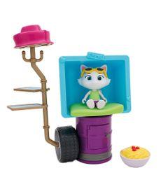 Playset-com-Figura-de-Acao---44-Gatos---ClubHouse-Milady---6-Pecas---Toyng_frente
