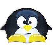Touca-de-Silicone-Infantil-Hydro-Pinguim-Preto-SportCom_frente