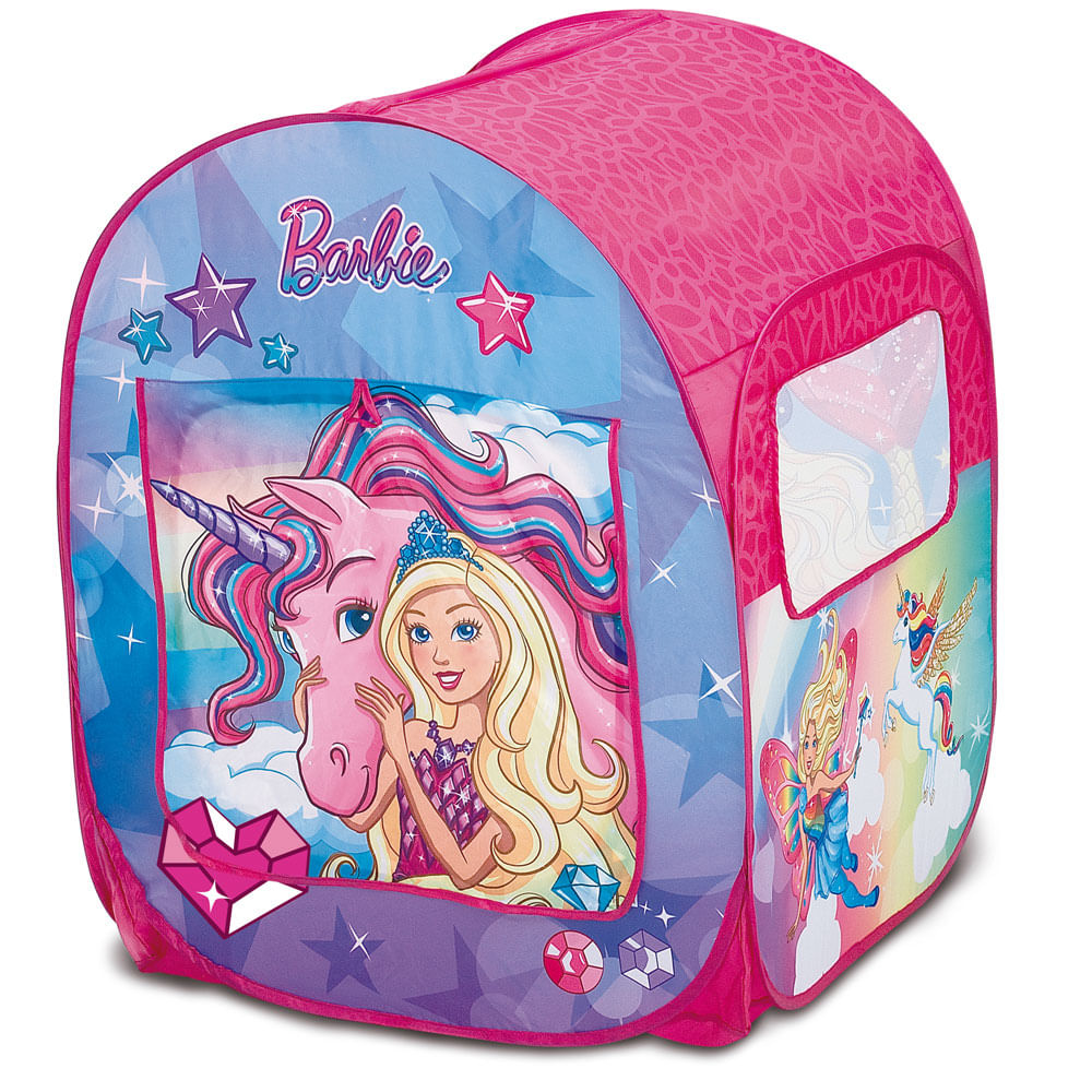 Barraca Infantil - Barbie - Mundo dos Sonhos - Fun