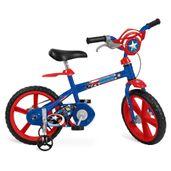 Bicicleta-ARO-14---Disney---Marvel---Capitao-America---Bandeirante