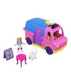 Mini-Boneca-e-Veiculo---Polly-Pocket---Pollyville-Caminhao---Mattel