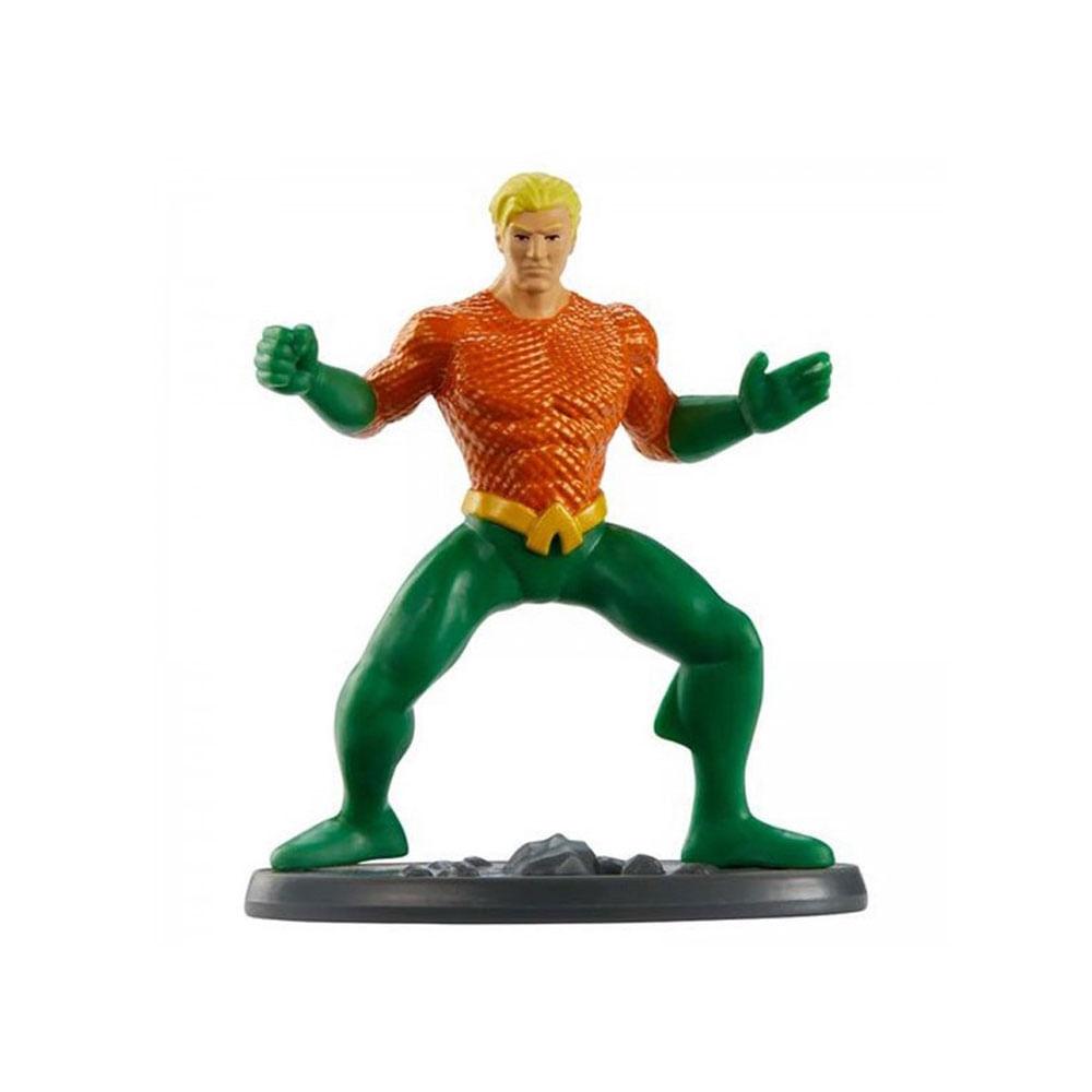 Mini Figura - 5 Cm - DC Comics - Liga da Justiça - Aquaman - Mattel