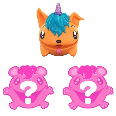 Mini-Figuras-Surpresas---Pooparoos---Laranja---Pack-com-3-Unidades---Mattel