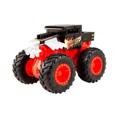 Veiculo-Hot-Wheels---1-43---Monster-Trucks---Bash-Ups---Bone-Shaker---Mattel