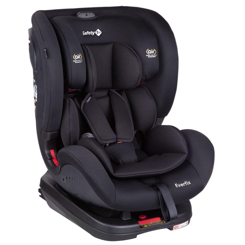 Cadeira para Auto - De 0 a 25 Kg - EveryFix - Full Black - Safety 1st