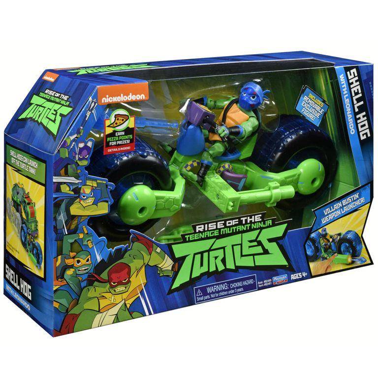 Figura E Veiculo Lancador O Despertar Das Tartarugas Ninja
