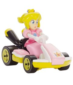 mini-veiculos-hot-wheels-1-64-mario-kart-princesa-mattel-GBG25_frente