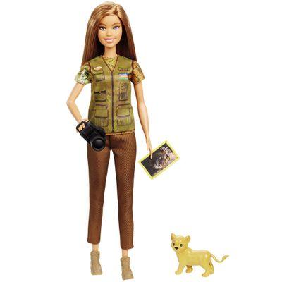 Boneca Barbie Barbie National Geographic Fotojornalista Mattel