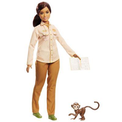 Boneca Barbie Barbie National Geographic Conservacionista Mattel
