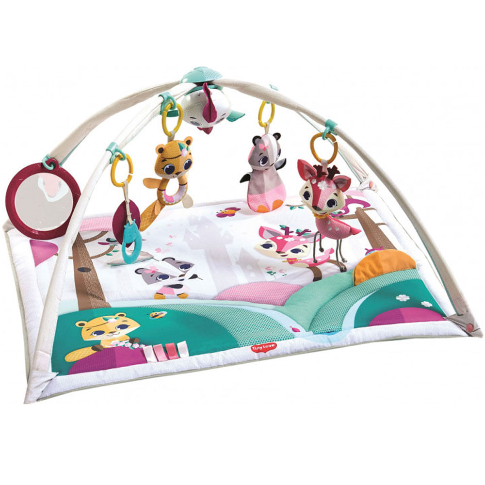 Ginásio de Atividades - 2 em 1 - Gymini - Princess Tales - Tiny Love