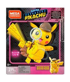 Blocos-de-Montar---Mega-Construx---Pokemon---Detetive-Pikachu---Figura-Media---Pikachu---Mattel