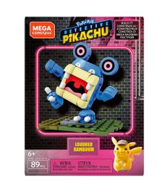 Blocos-de-Montar---Mega-Construx---Pokemon---Detetive-Pikachu---Figura-Pequena---Loudred---Mattel