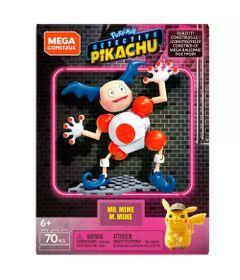 Blocos-de-Montar---Mega-Construx---Pokemon---Detetive-Pikachu---Figura-Pequena---Mr.-Mime---Mattel