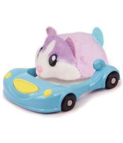 Figura-Hamster-com-Veiculo---Hamsters-in-a-House---Super-Acelerado---Frostie---Candide