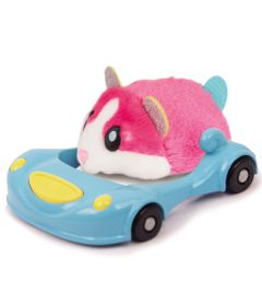 Figura-Hamster-com-Veiculo---Hamsters-in-a-House---Super-Acelerado---Sundae---Candide