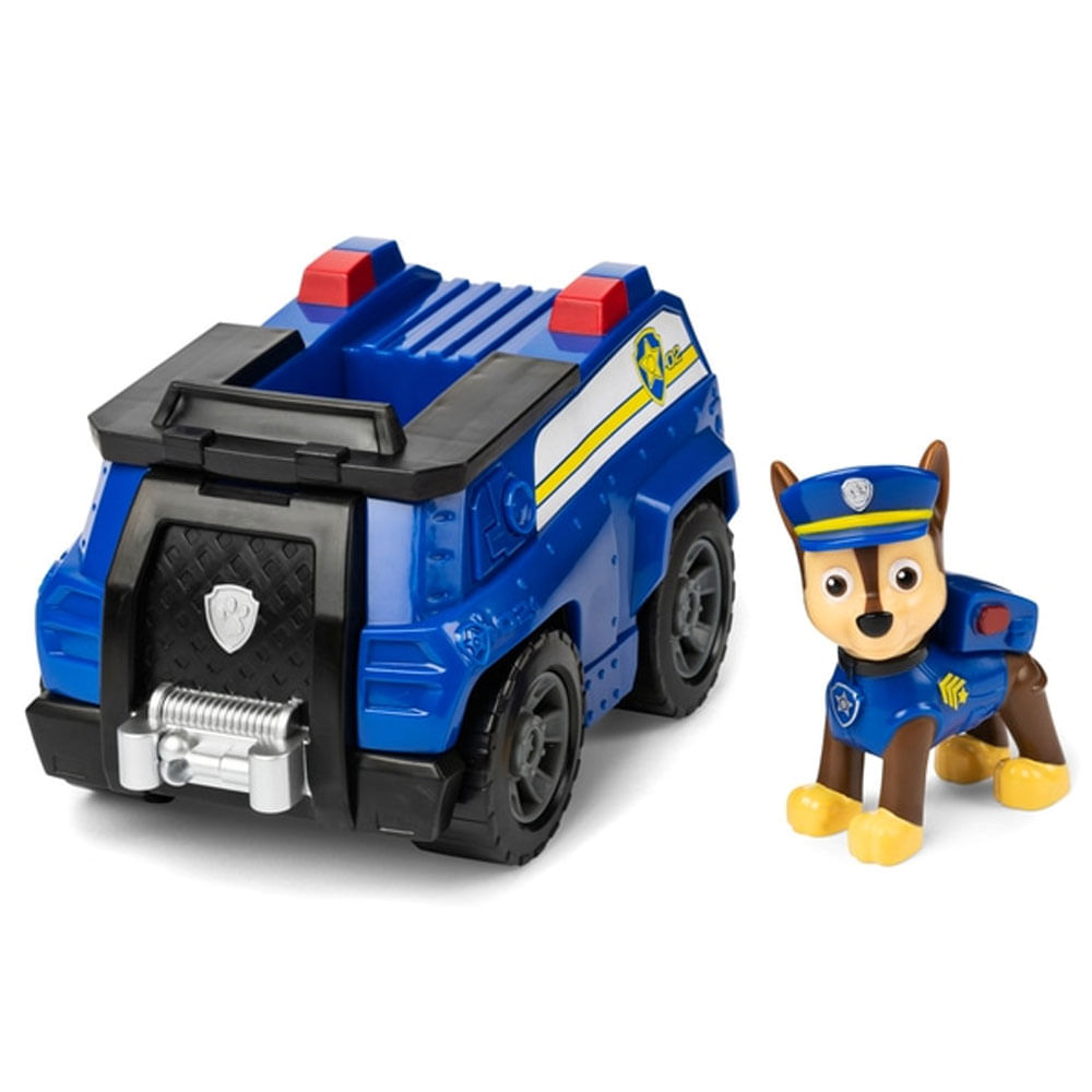 Mini Figura e Veículo - 11Cm - Patrulha Canina - Chase - Patrol Cruiser - Sunny