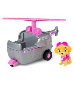Mini-Figura-e-Veiculo---11Cm---Patrulha-Canina---Skye---Helicopter---Sunny