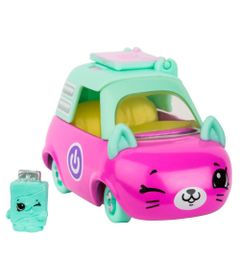 Mini-Figura-e-Veiculo---Shopkins-Cuties-Cars---Blister-Unitario---Note-Breque---DTC