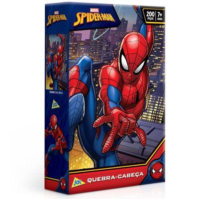 Quebra-Cabeca---200-Pecas---Disney---Marvel---Spider-Man---Toyster