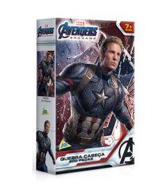 Quebra-Cabeca---200-Pecas---Disney---Marvel---Vingadores---Ultimato---Capitao-America---Toyster