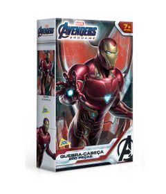 Quebra-Cabeca---200-Pecas---Disney---Marvel---Vingadores---Ultimato---Homem-de-Ferro---Toyster