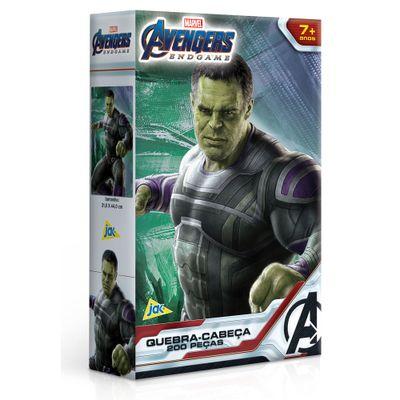 Quebra-Cabeca---200-Pecas---Disney---Marvel---Vingadores---Ultimato---Hulk---Toyster