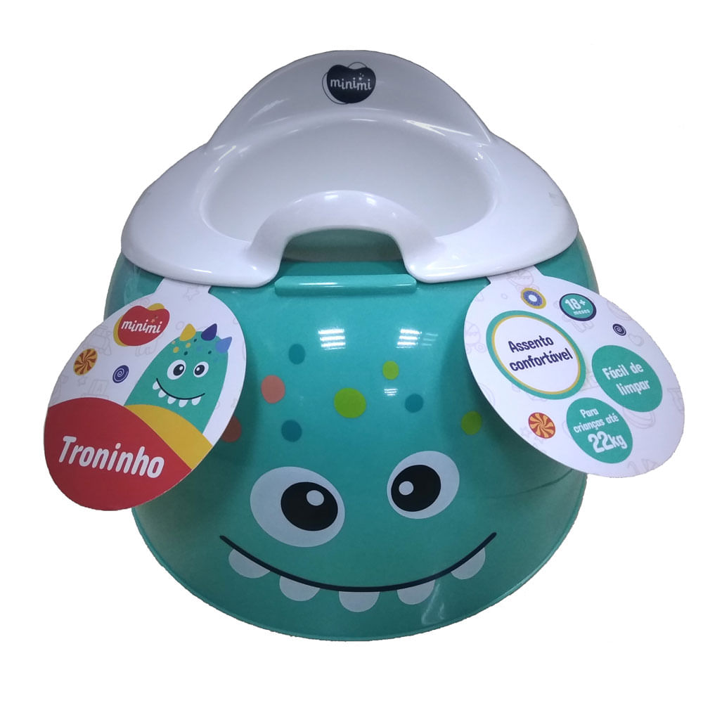 Troninho Infantil - Verde - Minimi